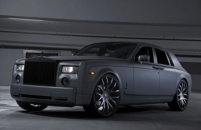 2014 Black Rolls-Royce Phantom Base Sedan |Matte Black Rolls Royce Phantom 2014