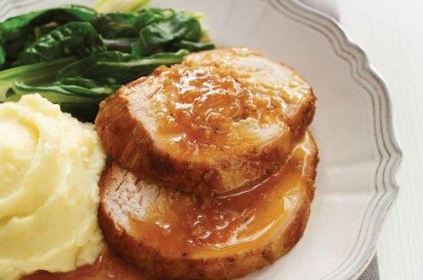 Slow cooker orange & honey turkey breast