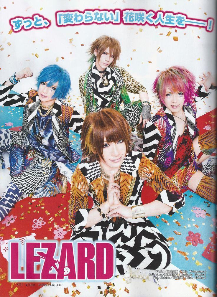 Cure Oshare Kei Band Lezard Scan #1