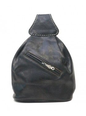 My Green Bag The Black Mini Backpack. Buy @ http://thehubmarketplace.com/The-Black-Mini-Backpack