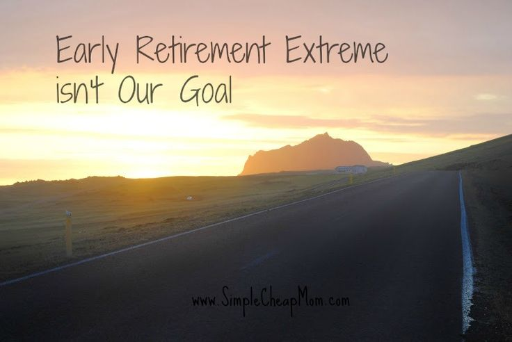 Early Retirement Extreme isn't Our Goal.  We can all have our own goals and all add to the personal finance conversation.