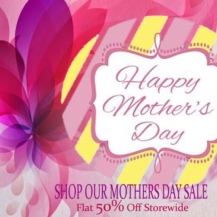Happy Mothers Day to all the lovely mothers! Because of you I am today! Gemsforjewels brings you the flat 50% off storewide! Avail products at unbeatable prices!! Happy Shopping:)