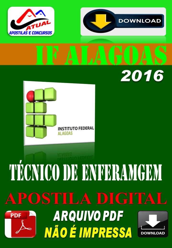 Apostila Digital Concurso Ifal AL Tecnico de Enfermagem 2016