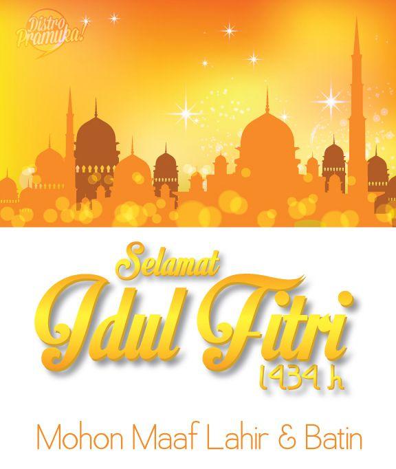 Kartu Ucapan Selamat Hari Raya Idul Fitri 1434 H Ver. 3