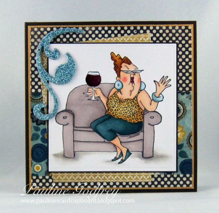 Celeste is ready to party! by lotsofstamps - Cards and Paper Crafts at Splitcoaststampers