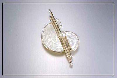 Donna Chambers - Gambling Counter Pin