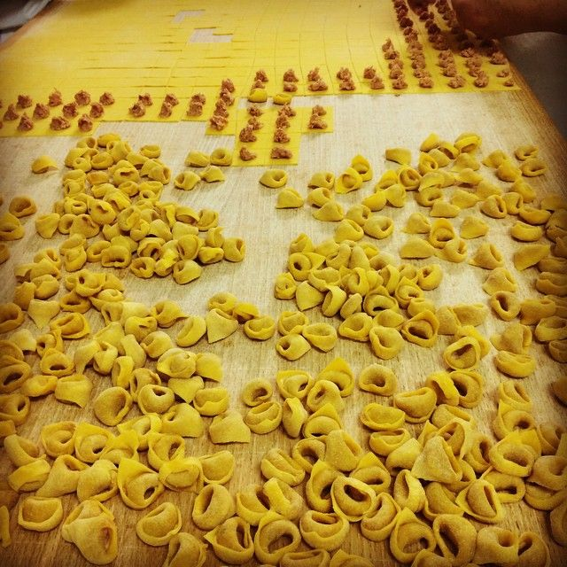 """""""It is a tough job but someone has to do it"""" :)  A traditional Sunday lunch #tortellini - Instagram by primopastafresca"""