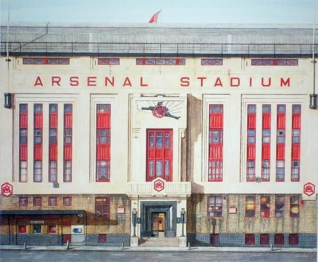 Highbury (East Stand facade) by Andrew Ingamells