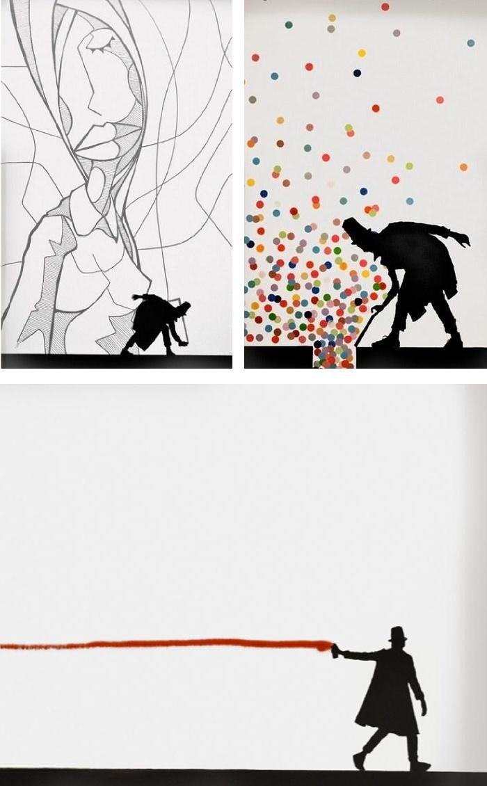 dalla street-art alla tela