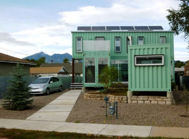 Shipping container homes kits six recycled shipping for Container home designs australia