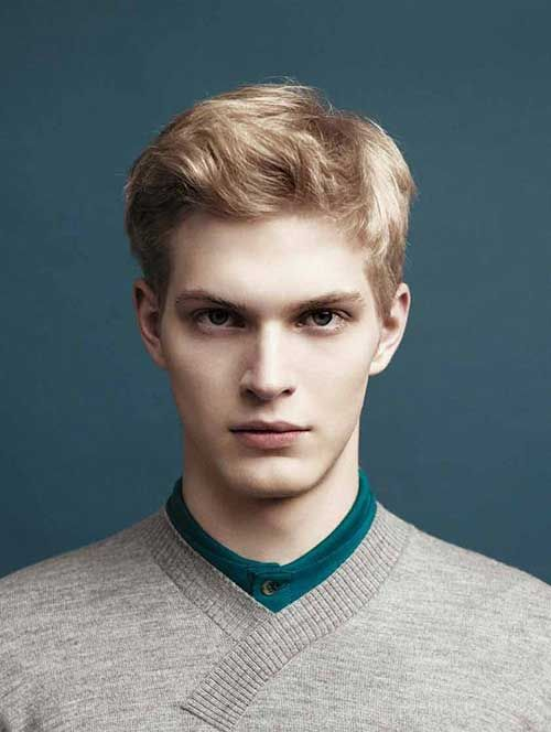 Stunning Casual Blonde Hair Color For Men