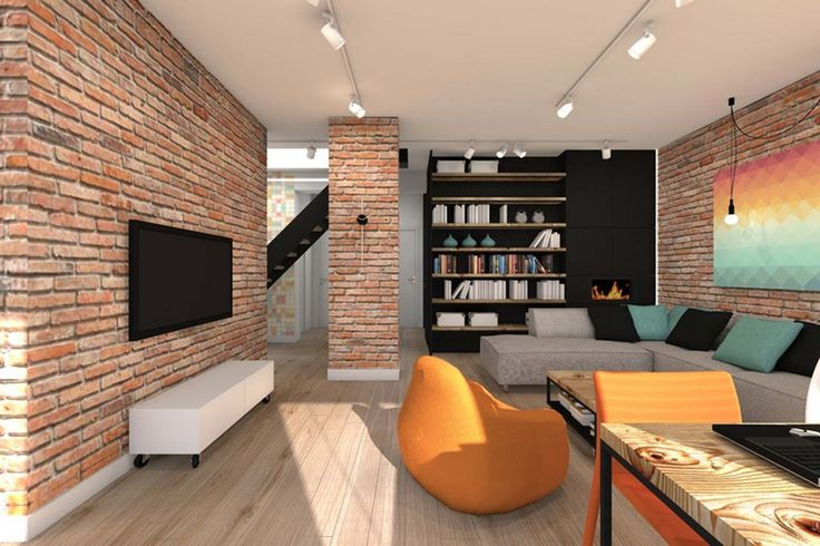 Best Home Interior Design Home Theater Room ~ http://www.lookmyhomes.com/best-home-interior-design-ideas-15-photos-by-loft-in-katowice/