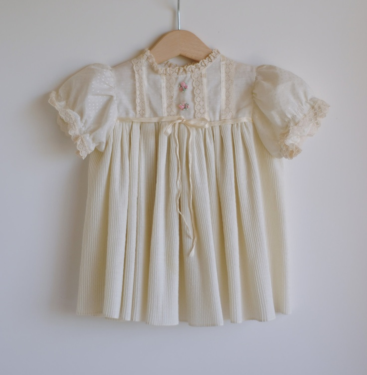 vintage style baby dress diy clothes sewing