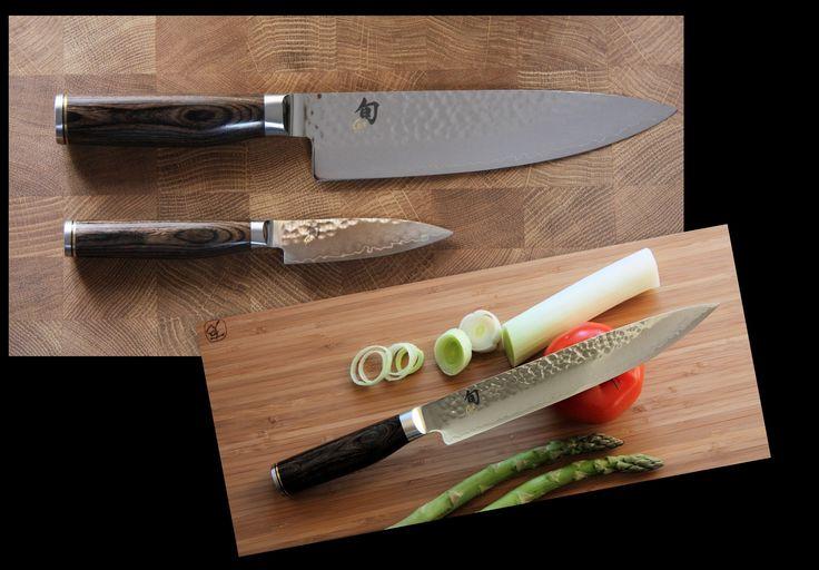 Pack de 3 couteaux japonais TIM MALZER SHUN PREMIER