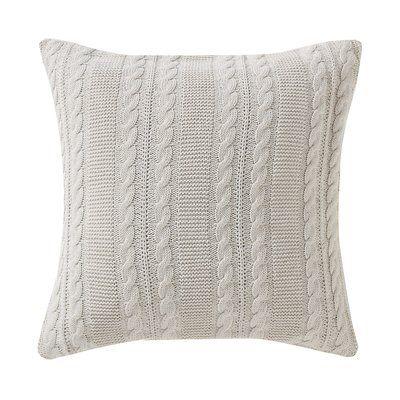 Machias 100% Cotton Throw Pillow