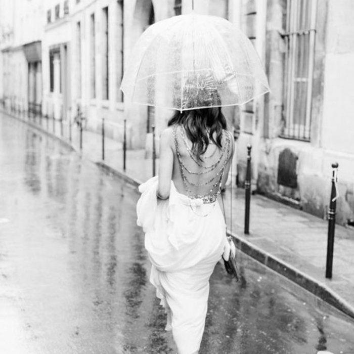 Parapluie transparent - Marie Claire Idées