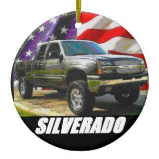 2003 Silverado 1500 Extended Cab Ceramic Ornament