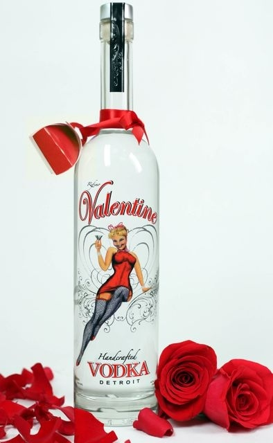 Happy Valentine S Day Vodka Packaging Pd Love The Color Red