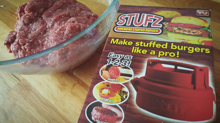 Stufz Burger - Powered by @ultimaterecipe