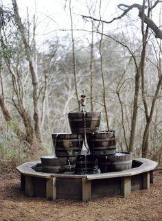 Rustic/Country- beer fountain, vodka(food coloring)
