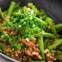 Green Beans with Garlic Black Bean Sauce | RECEITAS ASIATICAS E ...