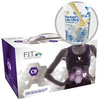 The C9 program can help you to jump start your journey to a slimmer, healthier you. This effective, easy-to-follow cleansing program will give you the tools you need to start transforming your body today!    Your C9 pack includes:  Aloe Vera Gel® – 2X – 1 liter bottles Forever Lite Ultra Shake® – 1 pouch Vanilla Forever Therm™ – 18 tablets Forever Fiber™ – 9 sticks Forever Garcinia Plus® – 54 softgels