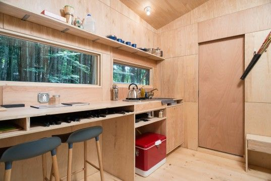 Harvard students built this off-the-grid, solar-powered house