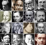 Modern Poets. This is a list of famous modern poets. This list of the most popular famous contemporary poets, with their best poetry, is determined by website visitors.