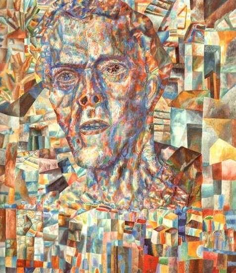 Филонов Павел Николаевич  (1883-1941) A head