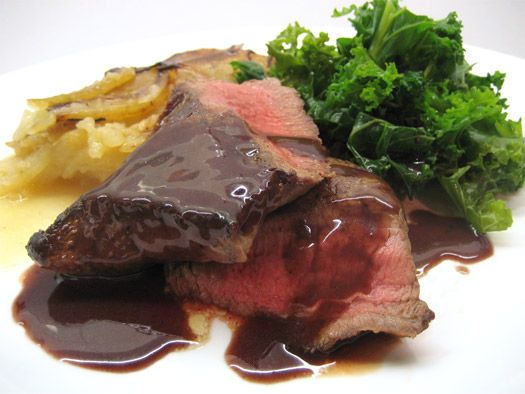 Venison mentioned in Fifty Shades of Grey page 154