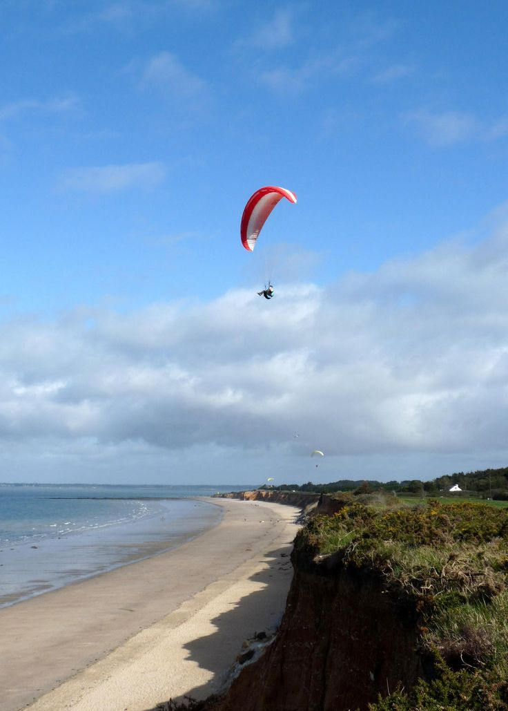 Parapente plage de la source office de tourisme de - Office de tourisme bretignolles sur mer ...