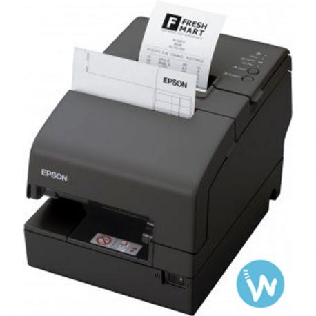 On ne présente plus l'imprimante compacte Multifonctions tickets, chèques et factures EPSON TM-H6000, la plus installée en grande distribution par exemple