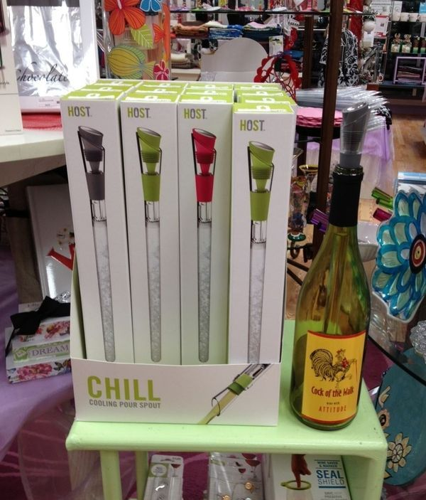 If you love wine, you will love this new wine chiller!