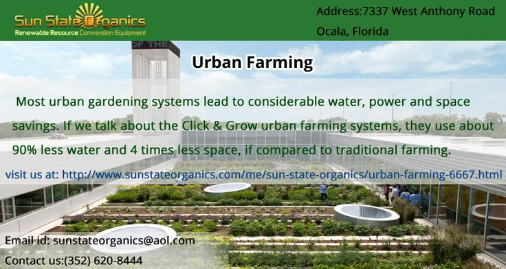Sun State Organics support Urban Farming in all its forms. We prefer to do things organically there is a place for hydroponics, aeroponics, aquaponics, permaculture and the rest of the different Choose from multiple seed varieties