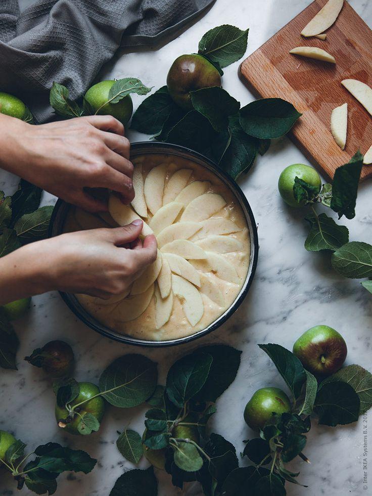 Höstens godaste äppelkaka   IKEA Livet Hemma – inspirerande inredning för hemmet.