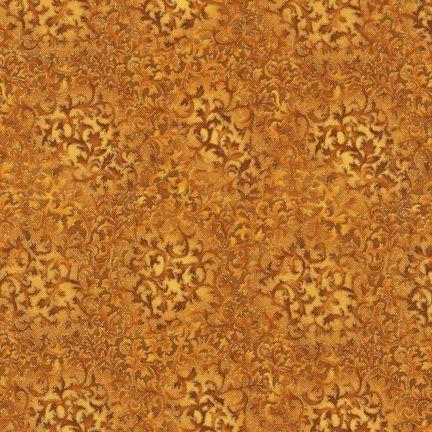 Robert Kaufman Fabrics: EYJM-6644-196 HARVEST from Fusions® 6644