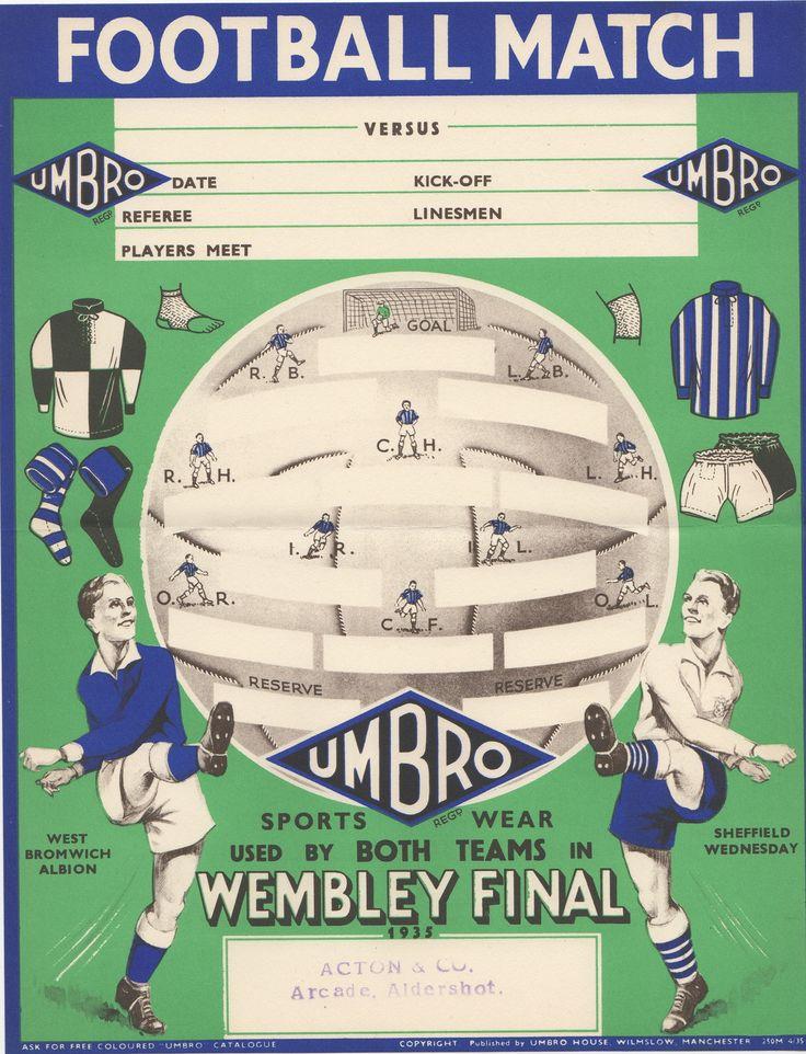 Umbro Wembley Final