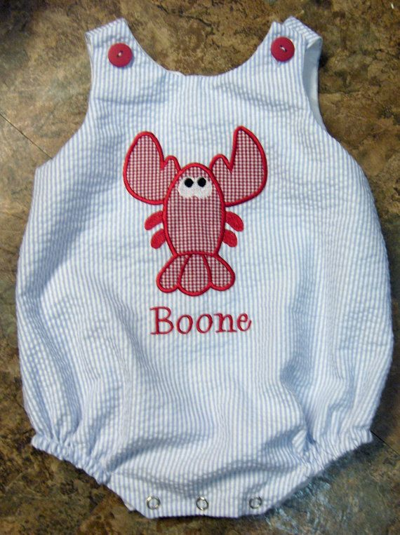 custom boutique childrens clothing girl boy bubble romper dress applique monogrammed birthday outfit bubble on Etsy, $35.00