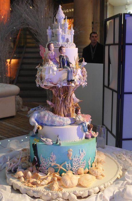 594 Best Wedding Cakes Images On Pinterest