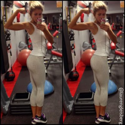 Booty building leg & glute workout (squat emphasis). FITNESS BARBIE LAUREN GLEISBERG BLOG for daily workouts, healthy recipes, motivation, and more!