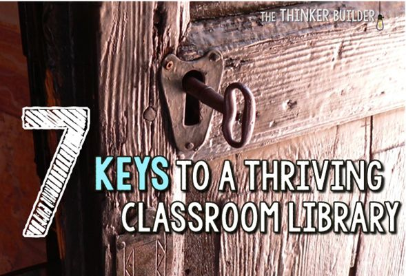 7 Keys to a Thriving Classroom Library, plus lots of ideas to make it happen. Anyone else have a classroom library gathering dust? Good timing for this post.