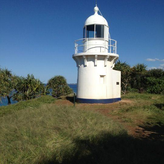 Fingal Head Lighthouse in Fingal Head, NSW