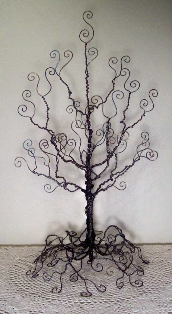 wire tree - v cool