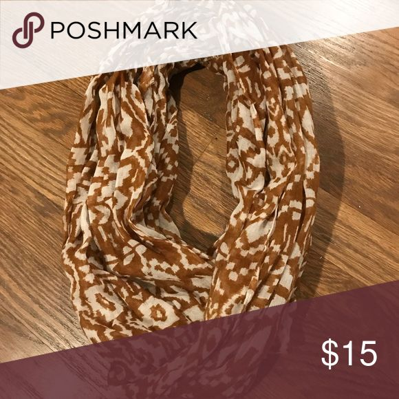 Lightweight scarf Burnt brown and cream lightweight scarf Sonoma Accessories Scarves & Wraps