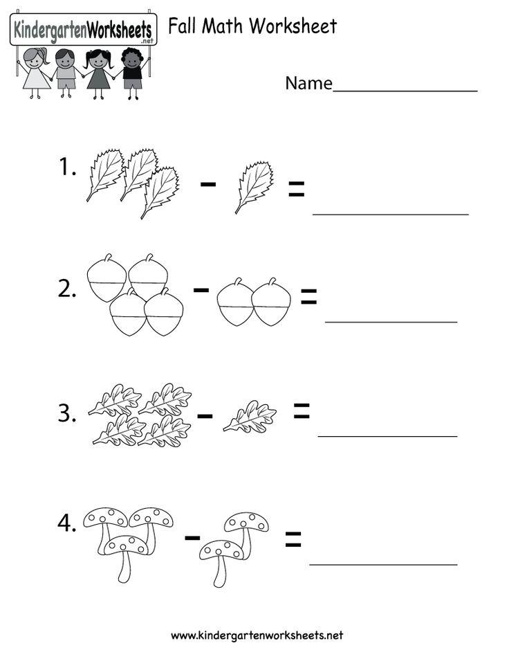 math worksheet : 8 best free halloween worksheets images on pinterest  halloween  : Fall Math Worksheets