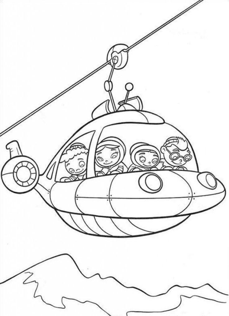 little einsteins coloring pages disney - photo#22
