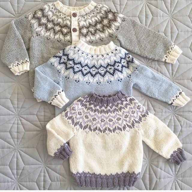 """1,288 Likes, 31 Comments - Vigdis Vikeså Drange (@mrsdrange) on Instagram: """"Same, same, but different!  #frostgenser  #knitting #knitting_inspiration #dalegarncotinga…"""""""