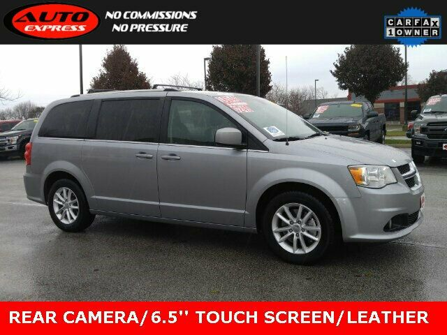 2018 Dodge Grand Caravan Sxt Fwd 3rd Row Leather 17 034 Alloys 6 5 034 Touch Screen In 2020 Grand Caravan Fwd