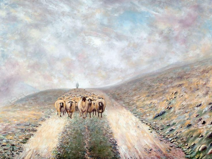 By Doctor Rida Yaghi-Oil-بريشة الطبيب رضا منذر ياغي