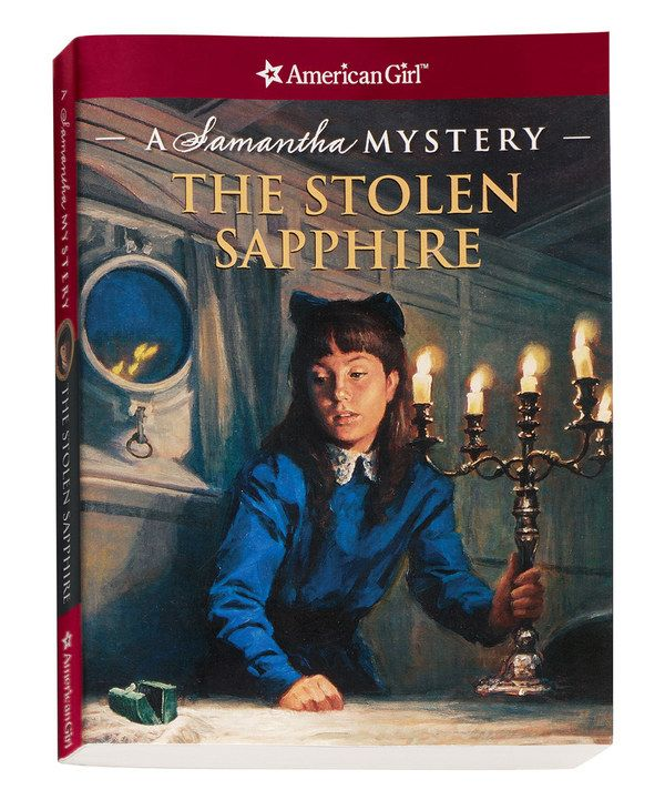 Look at this The Stolen Sapphire: A Samantha Mystery Book on #zulily today!